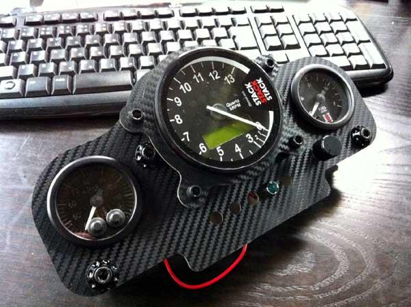 「テクノオートサービス 高橋日記」: GPZ900R STACK ST700SR 取付